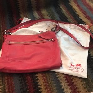 Coach shoulder or cross body purse